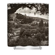 Mount Of Olives Shower Curtain