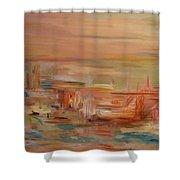 Mount Olympus Shower Curtain