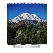 Mount Rainier - Eastside Shower Curtain