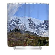 Mount Rainier 3 Shower Curtain