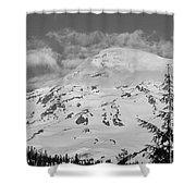 Mount Rainier Shower Curtain