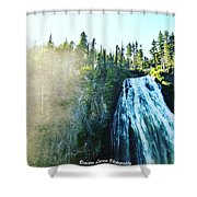 Mount Rainier National Park Shower Curtain