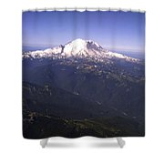 Mount Rainier Washington State Shower Curtain