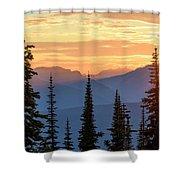 Mount Revelstoke Shower Curtain