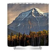 Mount Robson Shower Curtain