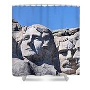 Mount Rushmore Shower Curtain