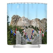 Mount Rushmore Entrance  8713 Shower Curtain
