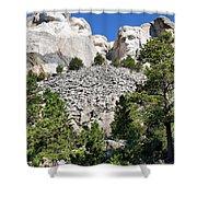 Mount Rushmore II Shower Curtain