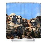 Mount Rushmore In South Dakota Shower Curtain