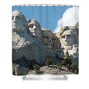 Mount Rushmore Monument Shower Curtain