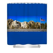 Mount Rushmore National Memorial Shower Curtain