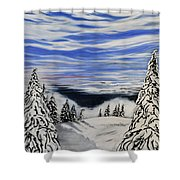 Mount Seymour Shower Curtain