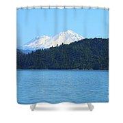 Mount Shasta And Shasta Lake Shower Curtain