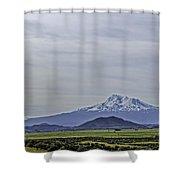 Mount Shasta Majesty Shower Curtain