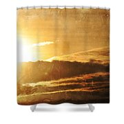 Mount Shasta Sunrise Shower Curtain