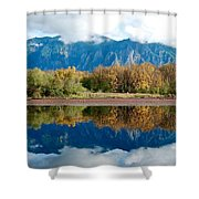 Mount Si Shower Curtain