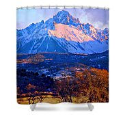 Mount Sneffels  Shower Curtain