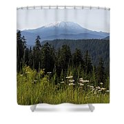 Mount St Helens In Washington State Shower Curtain