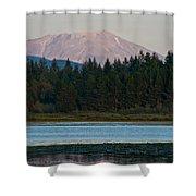 Mount St. Helens Shower Curtain