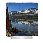 Mount Tallac And Fallen Leaf Lake Shower Curtain