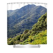 Mount Tamalpais From Blithedale Ridge Shower Curtain