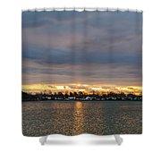 Mount Trashmore Sunrise 2 Shower Curtain