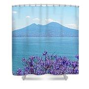 Mount Vesuvius 1 Shower Curtain