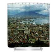 Mount Vesuvius Naples It Shower Curtain