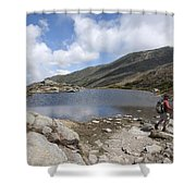 Mount Washington - New Hampshire Usa Lakes Of The Clouds Shower Curtain