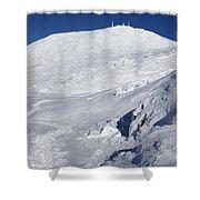 Mount Washington - White Mountain New Hampshire Usa Winter Shower Curtain