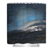 Mount Washington Sunrise Shower Curtain