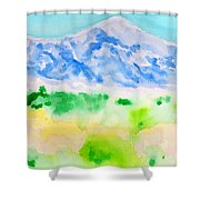 Mount Whitney Shower Curtain