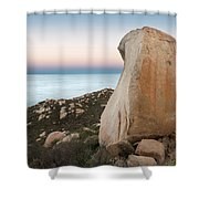 Mount Woodson At Dawn Shower Curtain