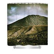 Mount Zeehan Tasmania Shower Curtain