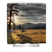Mountain Afternoon Shower Curtain