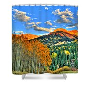 Mountain Beauty Of Fall Shower Curtain