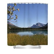 Mountain Bliss Shower Curtain