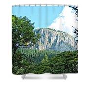 Mountain Charm Shower Curtain
