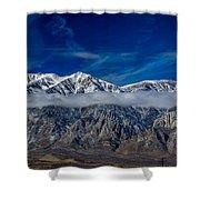 Mountain Cloud Shower Curtain