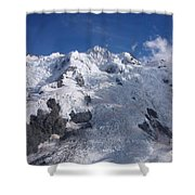 Mountain Cloud Scape Shower Curtain