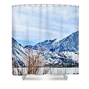 Mountain Cool Shower Curtain
