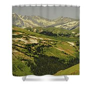 Mountain Country Shower Curtain