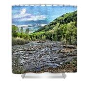 Mountain Creek Shower Curtain