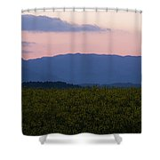 Mountain Dawn Shower Curtain