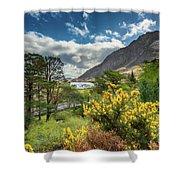 Mountain Flora Shower Curtain