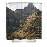 Mountain Glacier Shower Curtain
