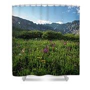 Mountain Glory Shower Curtain