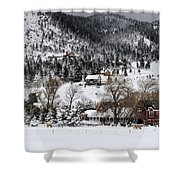 Mountain Home Shower Curtain