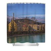 Mountain Industry Shower Curtain