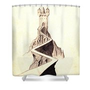 Mountain Keep Shower Curtain